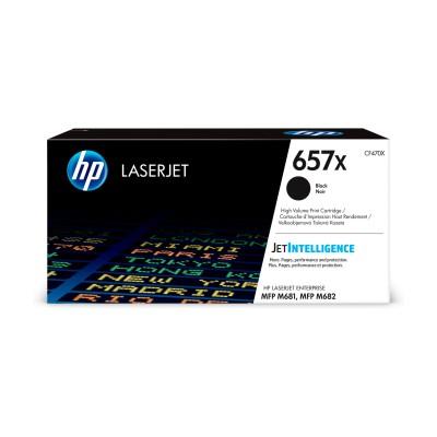 HP 657X High Yield černá LJ Cartridge, CF470X