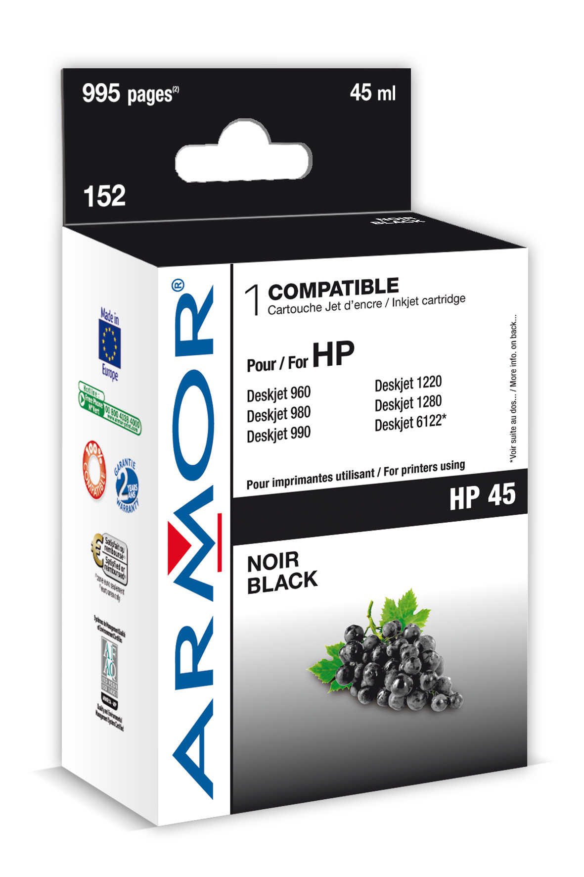 Armor ink-jet pro HP DJ 800, 42ml (51645A)