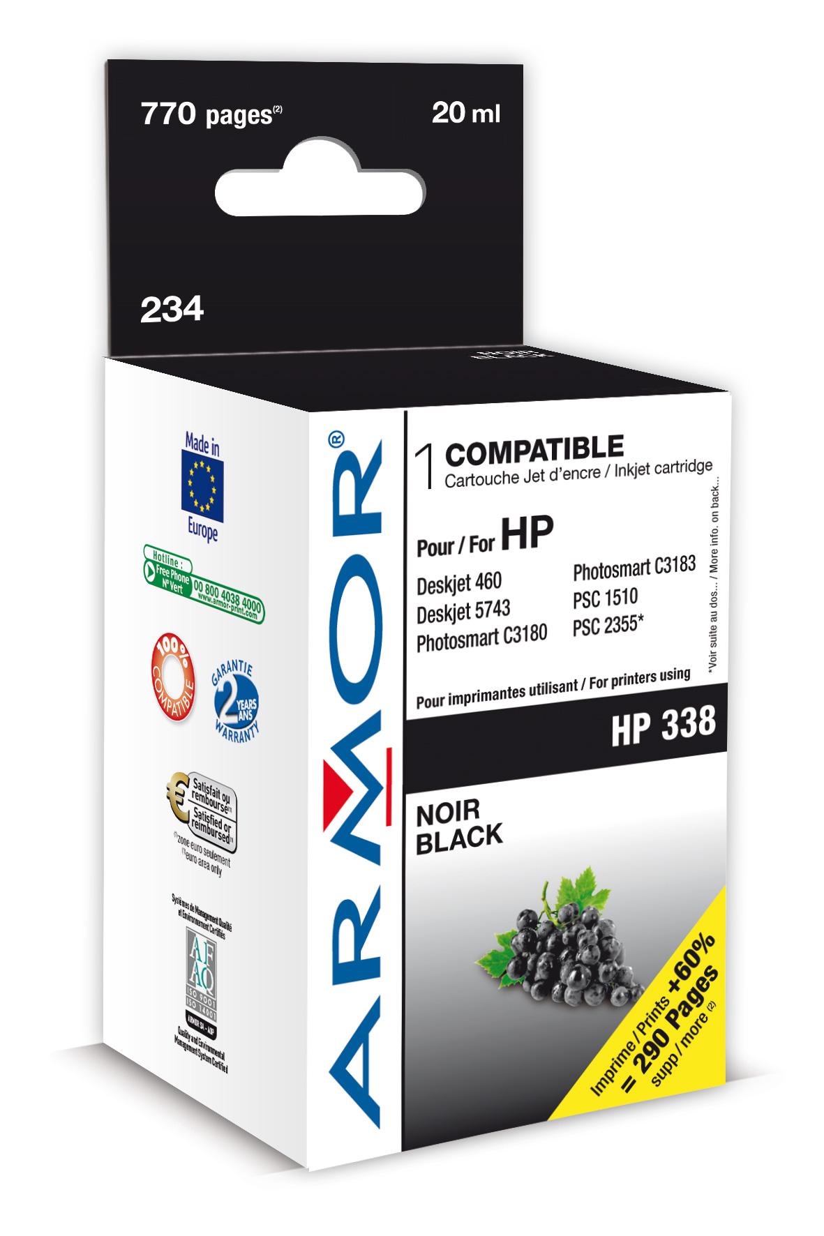 Armor ink-jet pro HP DJ 5740, 14ml (C8765EE)
