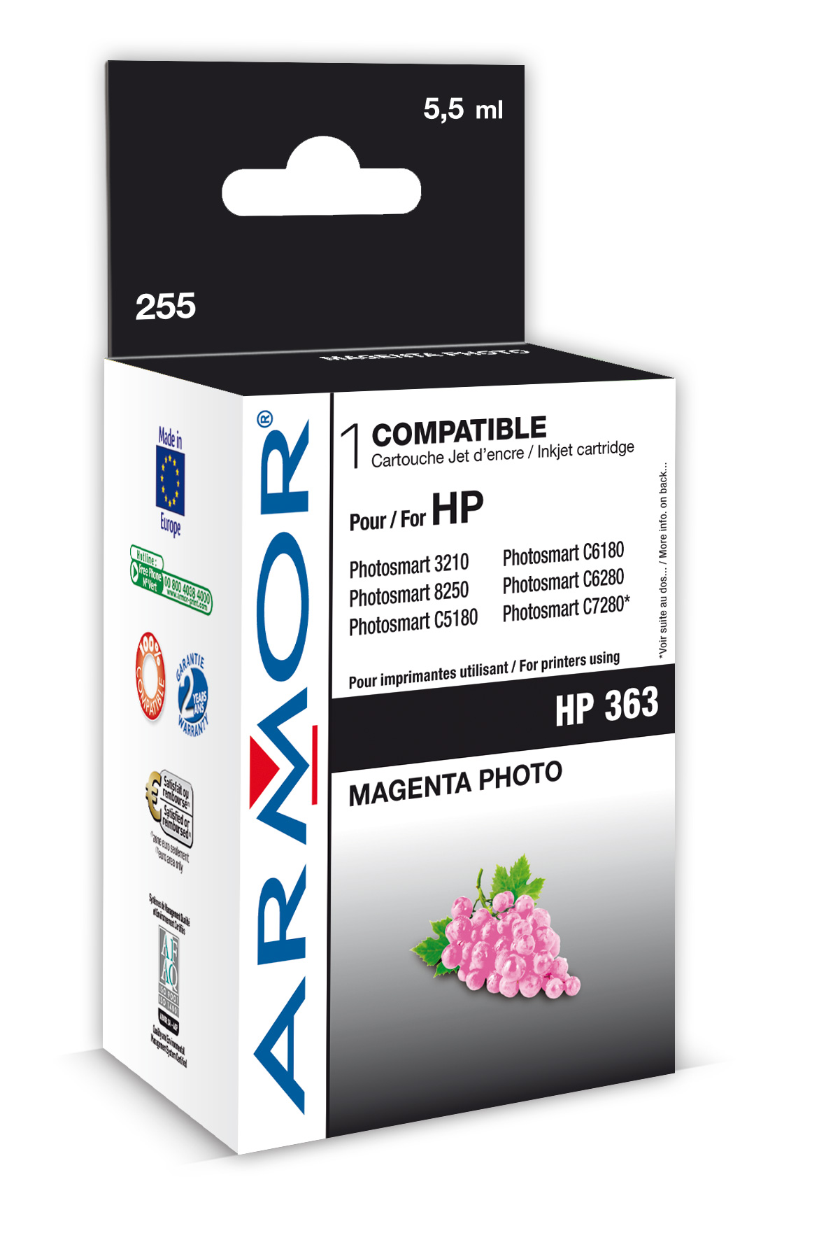 Armor ink-jet pro HP PSC3210 5,5ml C8775E Photo M