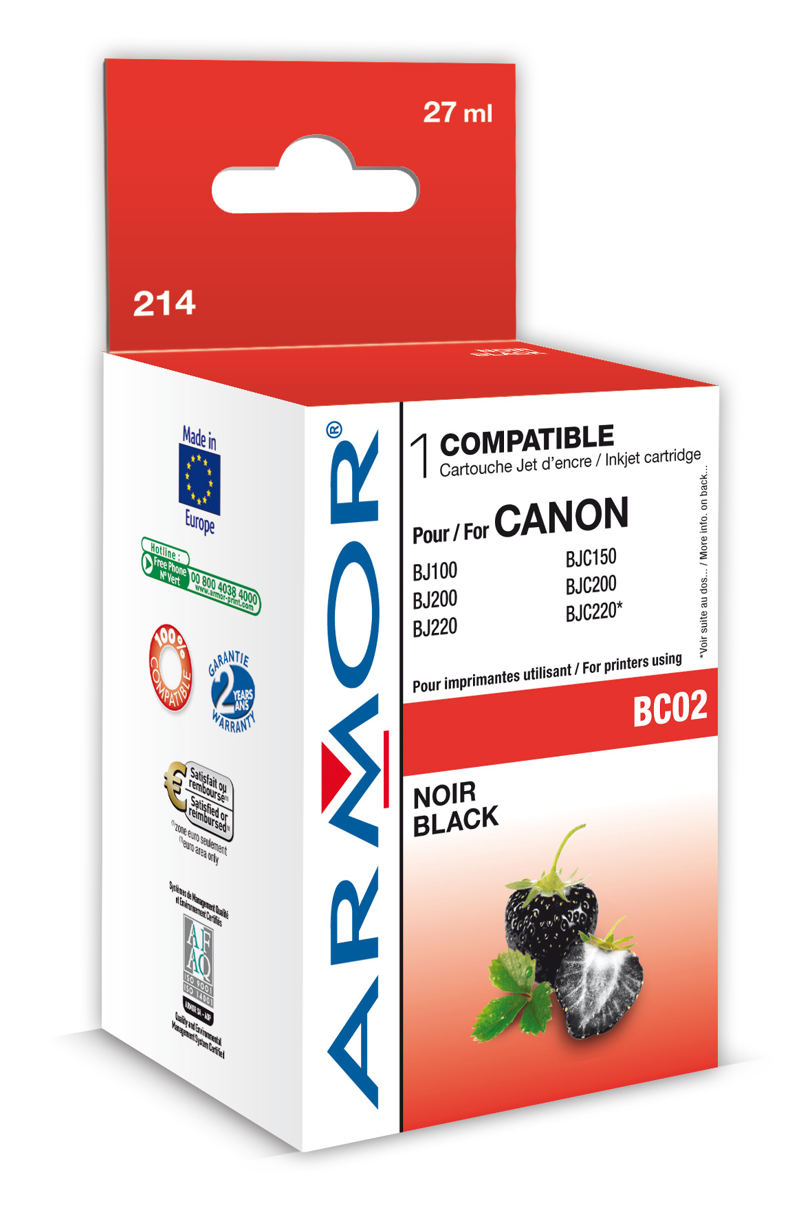 Armor ink-jet pro Canon BJ200 serie (BC-02)