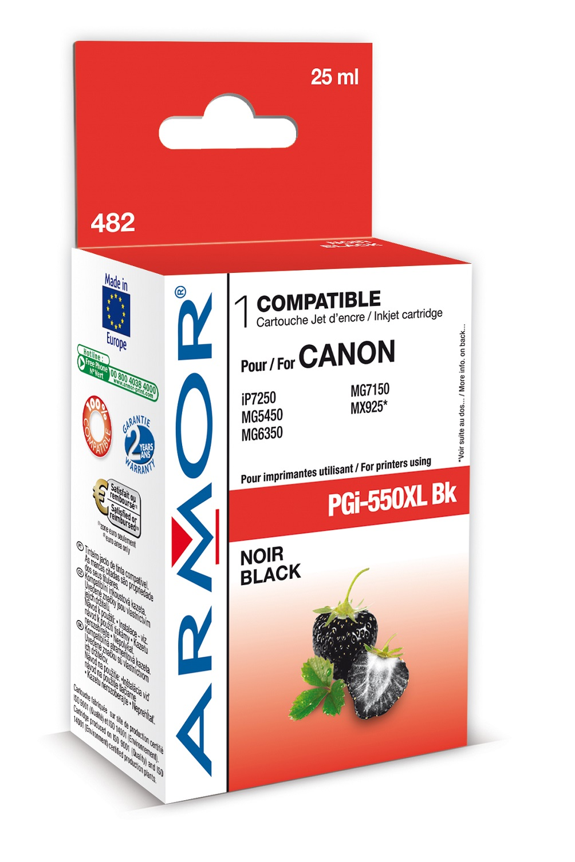 Armor ink-jet pro Canon PGI550BKXL, 25 ml, Black