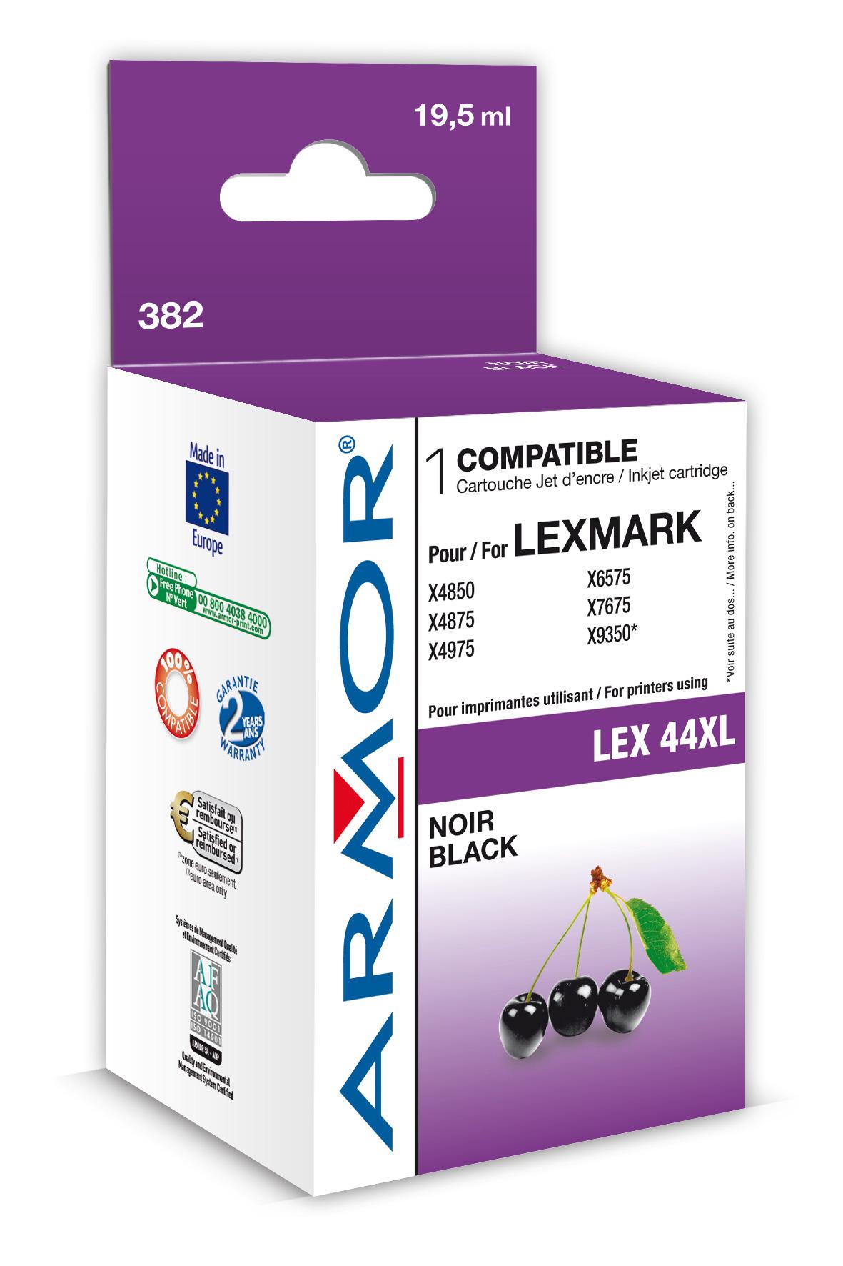 Armor ink-jet Lexmark X4850 černá,19.5ml(18Y0144E)