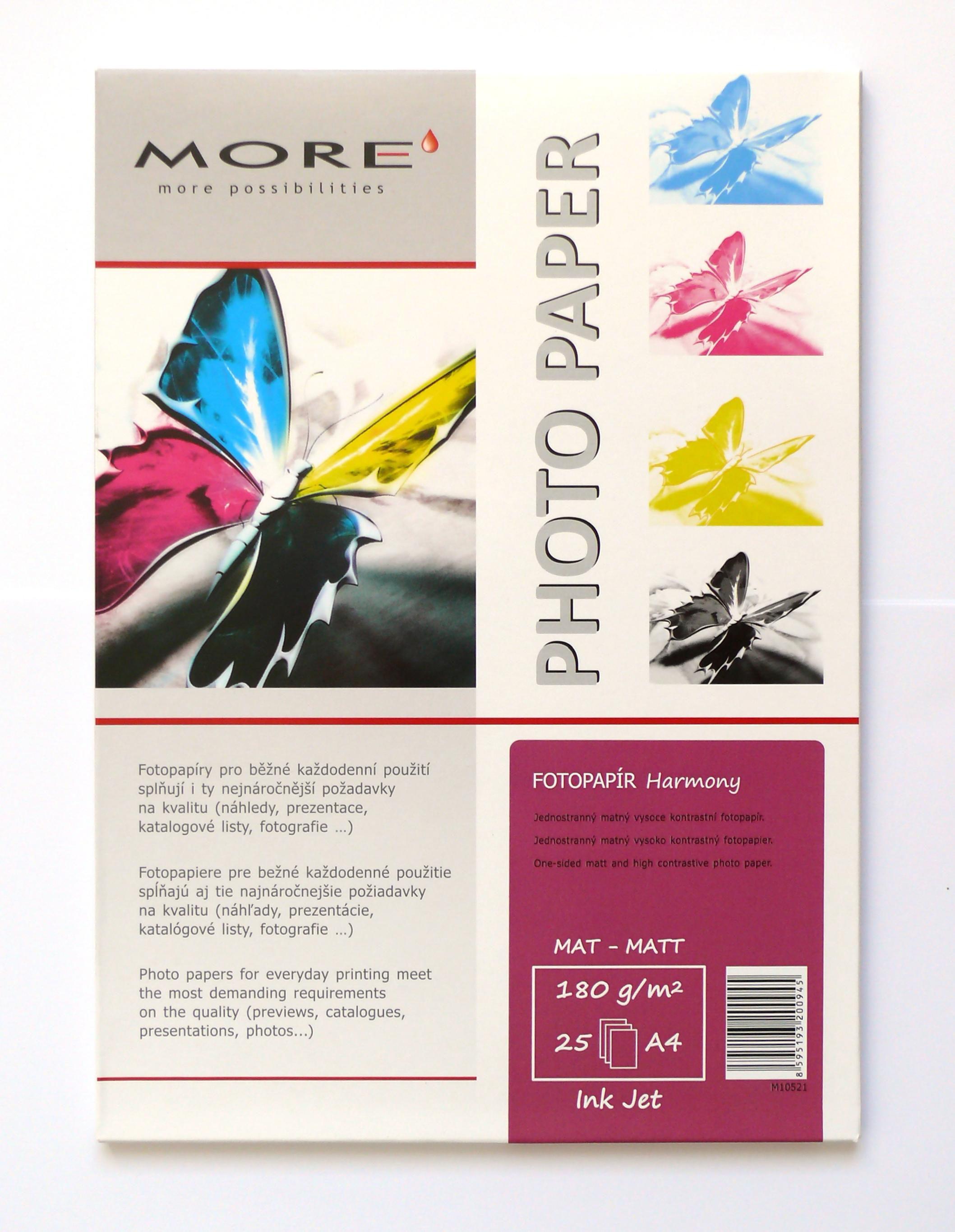 Armor fotopapír Harmony 180g matt 25xA4