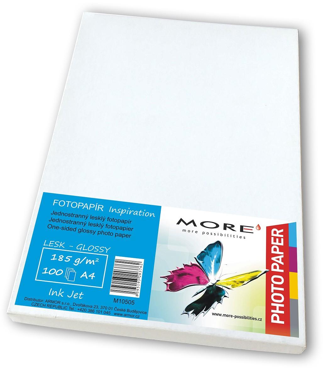 Fotopapír 100 list.180g,1str.lesklý Ink Jet - M10505