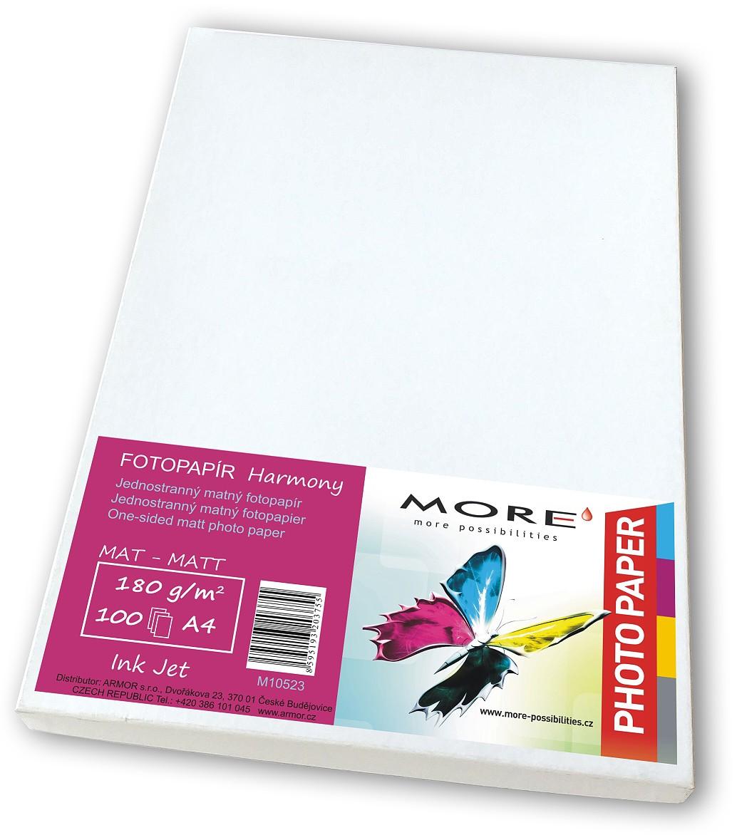 Fotopapír 100 list,170g/m2,matt,1str,Ink Jet - M10523