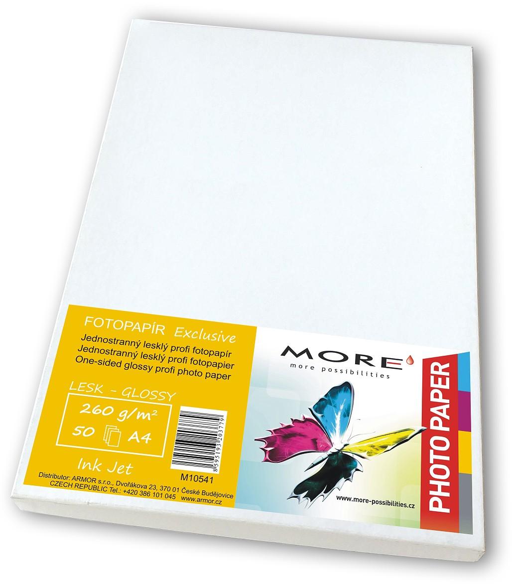 Fotopapír 50 listů,260g/m2,glossy,Ink Jet - M10541