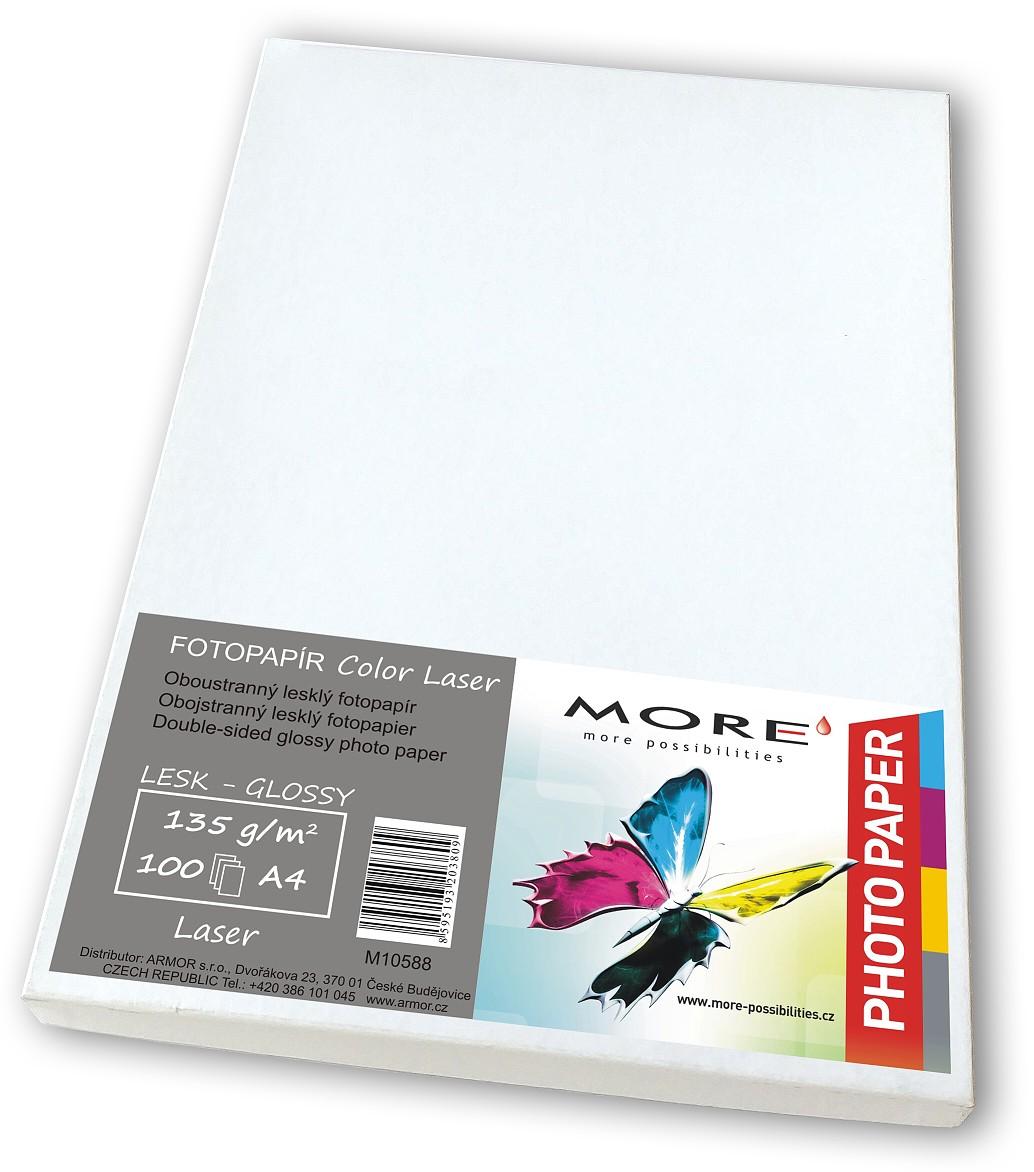 Hlazený Color Laser 100 listů,135g/m2, oboustranný - M10588