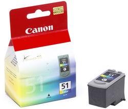 CL-51,inkoustová kazeta barevná pro iP2200, 21ml