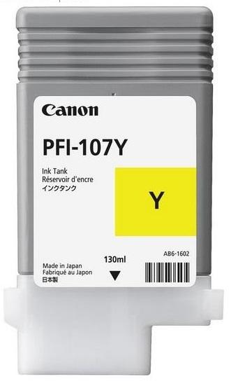 CANON INK PFI-107 YELLOW, iPF670 - CF6708B001