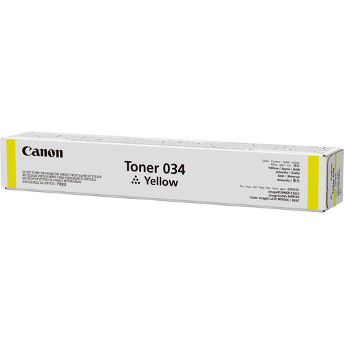 Canon toner 034 žlutý