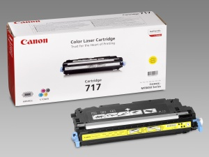 Canon toner CRG-717Y, žlutý