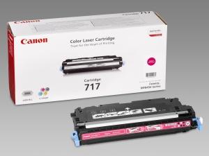 Canon toner CRG-717M, purpurový