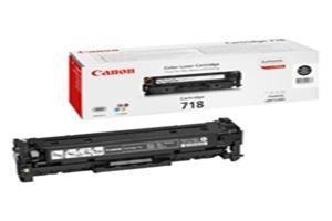 Canon toner CRG-718BK, černy