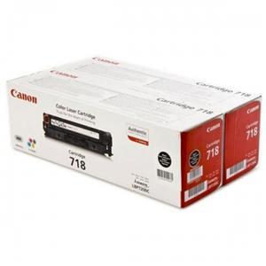 Canon toner CRG-718BK, černy - 2 pack