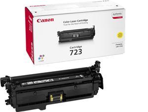 Canon toner CRG-723, žlutý