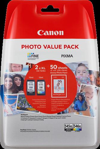 Canon PG-545 XL/CL-546 XL + 50x GP-501