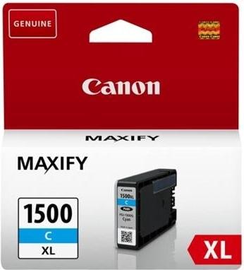 Canon PGI-1500XL C, azurový