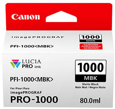 Canon PFI-1000 MBK, matný černý - 0545C001
