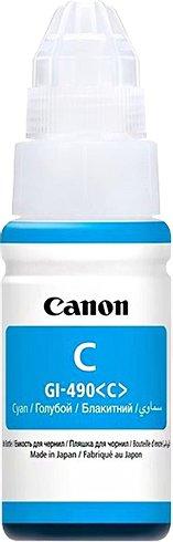 Canon GI-490 C, azurový