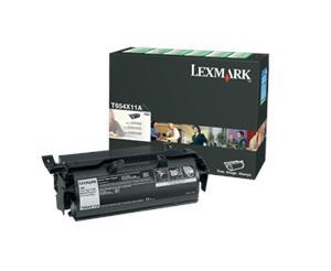 Lexmark T654 černý toner, T654X11E