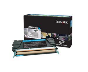 Lexmark C748 velká azur. toner.kazeta,C748H1CG