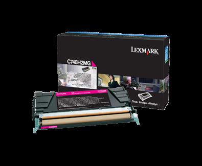 Lexmark C748 velká purpur.kazeta, C748H2MG