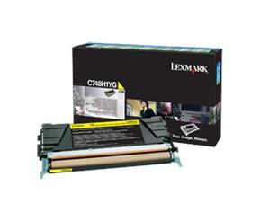 Lexmark C748 velká žlutá toner.kazeta,C748H1YG