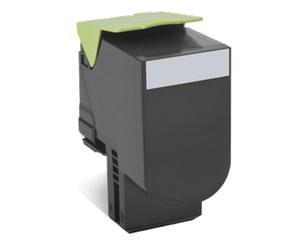 Lexmark 802K černá tonerová kazeta,80C20K0