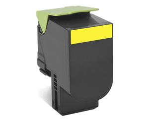 Lexmark 802XY extra velká žlutá toner.kaz,80C2XY0