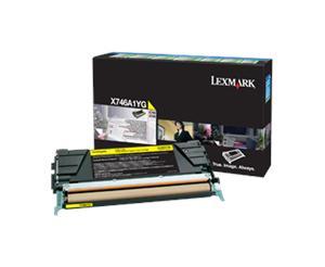 Lexmark X746,X748 žlutá toner.kazeta,X746A1YG