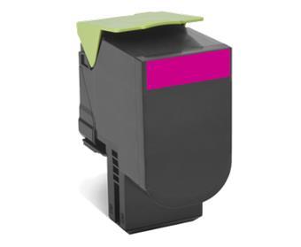 Lexmark 802SM standard.purpur toner.kazeta,80C2SM0