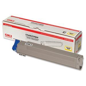 Oki Žlutý toner do C9600/9800/MFP (15 000 str)