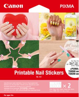 Canon NL-101 Printable Nail Stickers - 3203C002