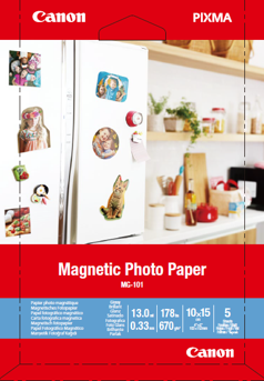 Canon MG-101 Magnetic Photo Paper - 3634C002