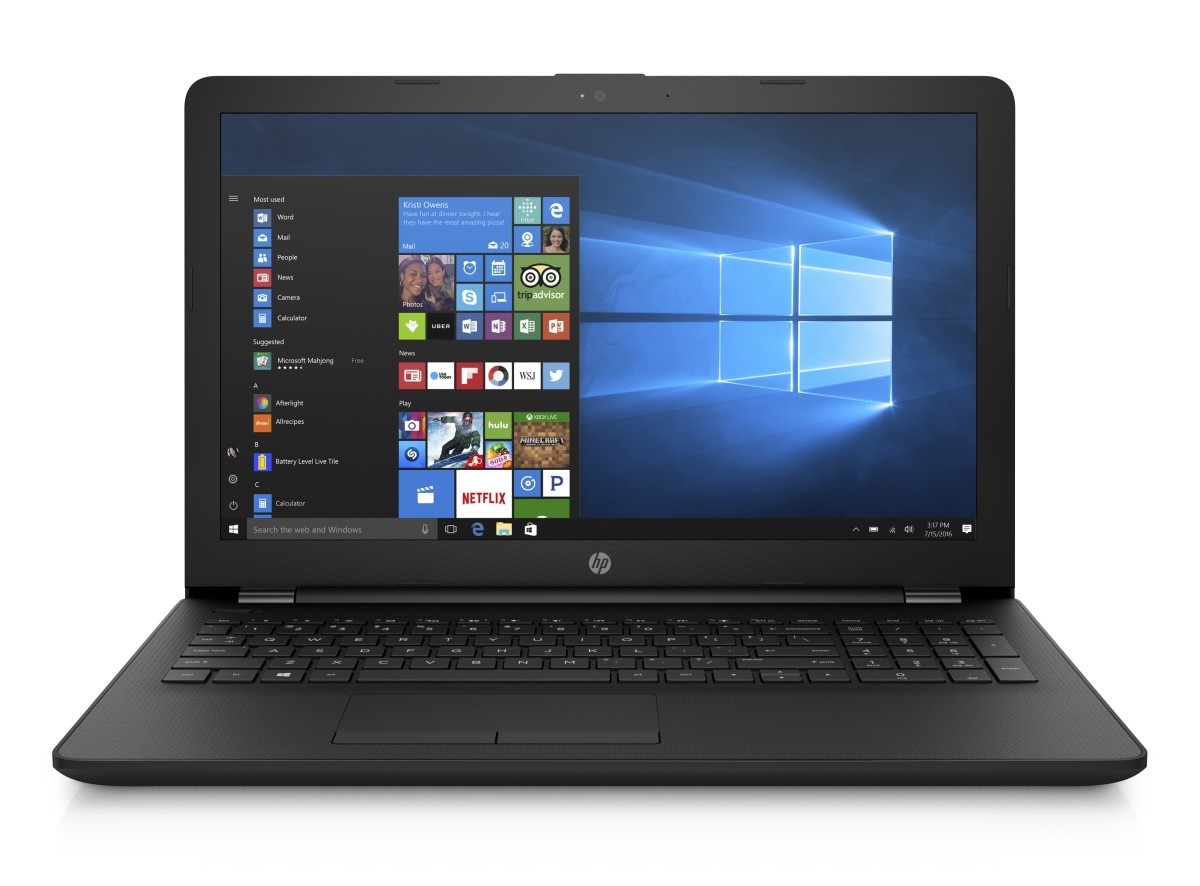 HP 15-rb014nc E2-9000e/4GB/500GB/DVD/W10-black
