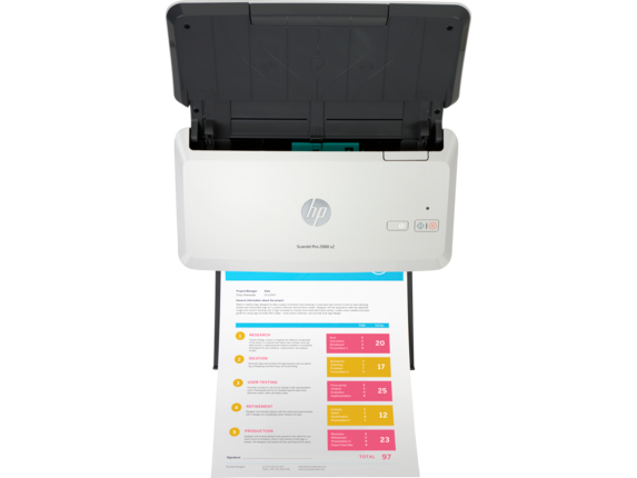 HP ScanJet Pro 2000 s2 - 6FW06A#B19
