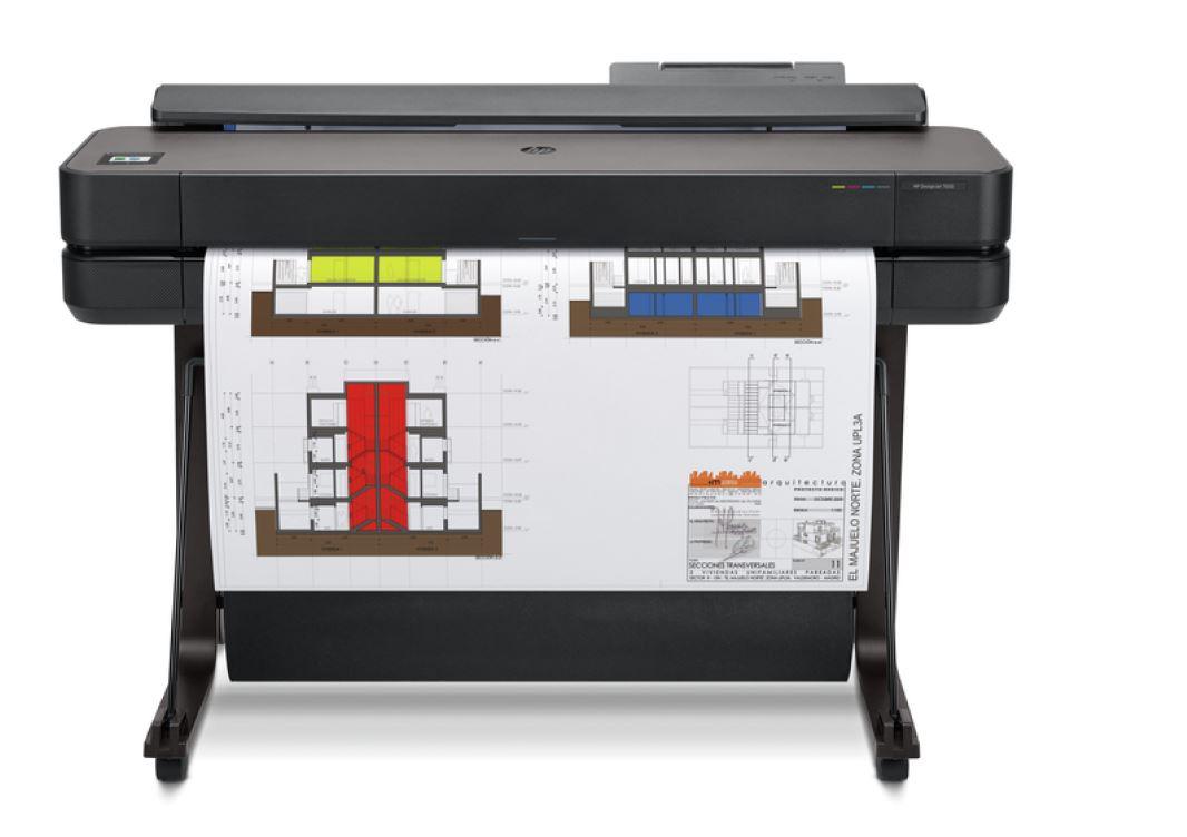 HP DesignJet T650 36-in Printer - 5HB10A