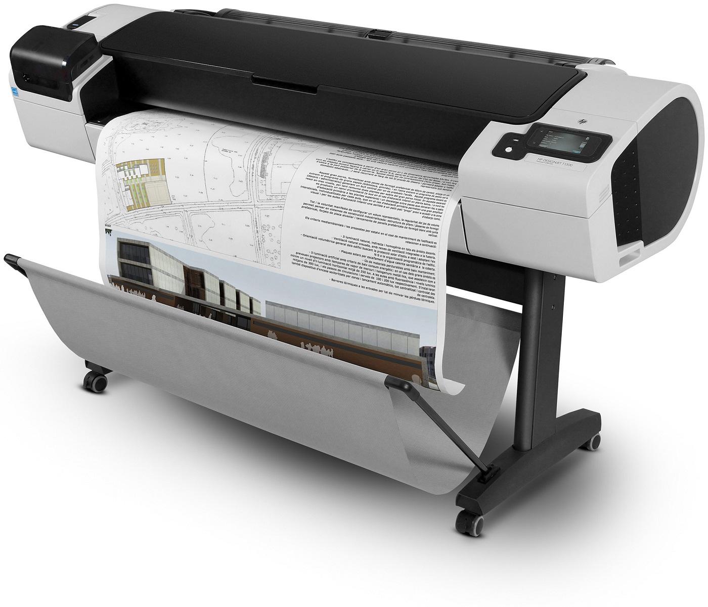 HP Designjet T1300 44  PostScript, stojan, A0