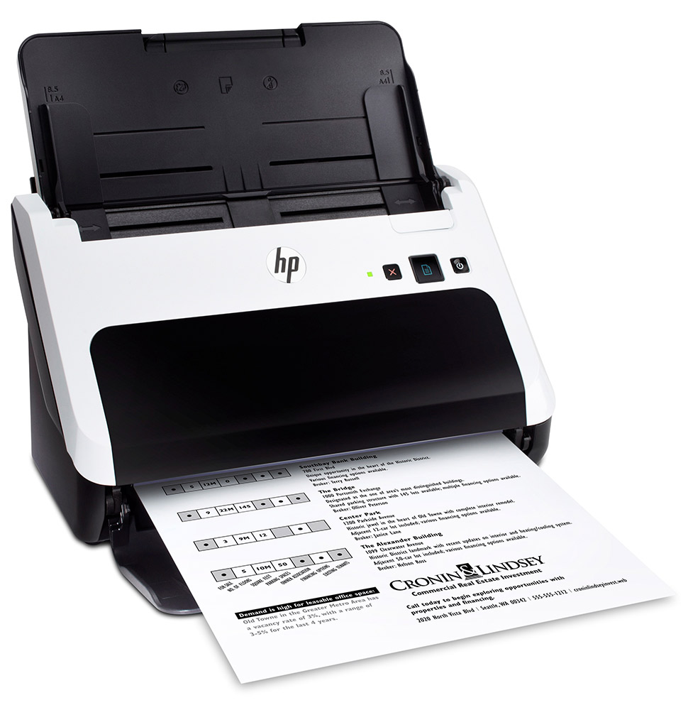 HP Scanjet Professional 3000 S2 Sheet-feed