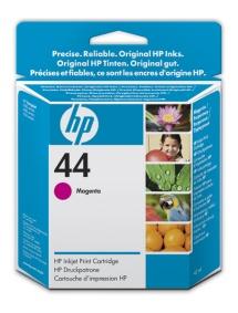 HP no. 44 - červená ink. kazeta, 51644ME