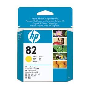 HP no 82 - žlutá ink. kazeta, CH568A