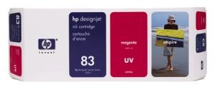 HP no. 83 - červená ink. kazeta, UV, C4942A