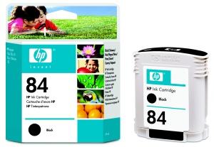 HP no 84 - černá inkoustová kazeta, C5016A