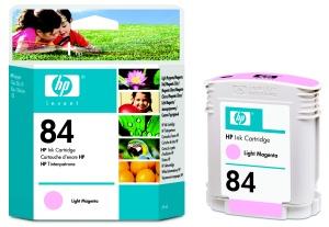 HP no 84 - sv.červená ink. kazeta, C5018A