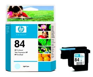 HP no 84 - sv. modrá tisková hlava, C5020A