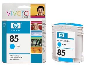 HP no 85 - modrý ink - dye, C9425A