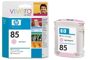HP no 85 - sv. červený ink - dye, C9429A