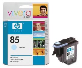 HP no 85 - sv. modrá tisková hlava, C9423A