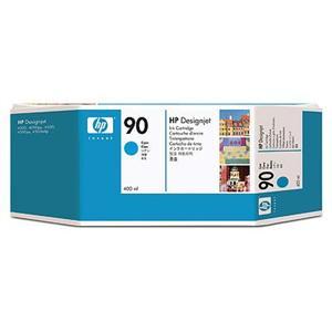 HP no 90 - azurová inkoustová kazeta velká, C5061A